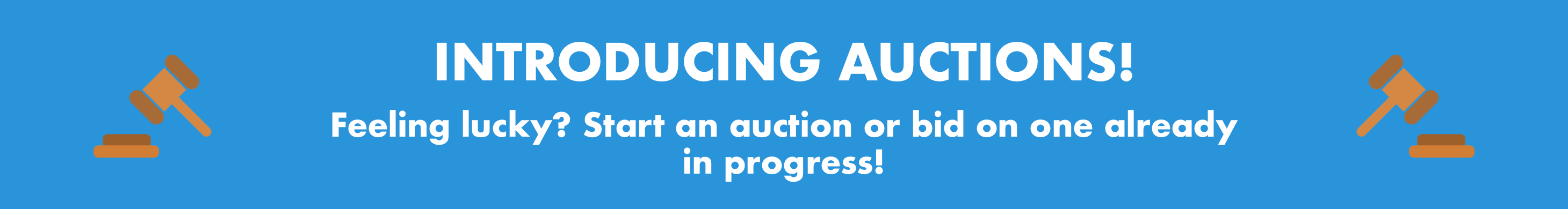 Auctions banner